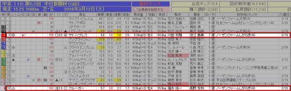 バケモン中日新聞杯1