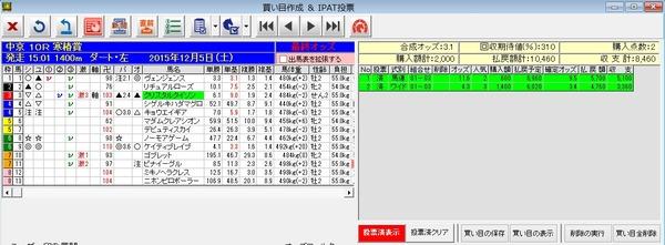 バケモン中京10R