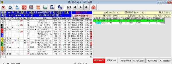 バケモン_阪神7R