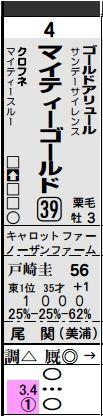 中山4Rマイティーゴールド