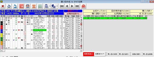 バケモン中京9R