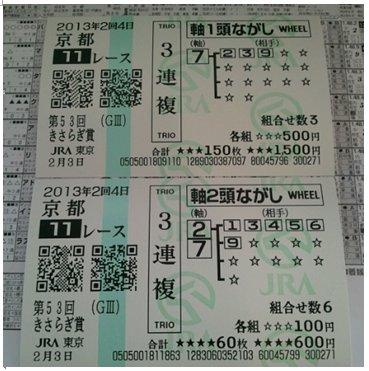 馬券_菊池0203京都11Rwin