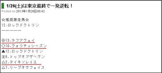 最終予想_0126東京12R