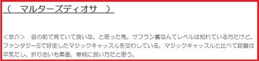 191208阪神JF穴推奨