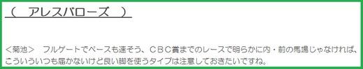 180701CBC賞穴推奨