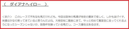181222阪神C穴推奨