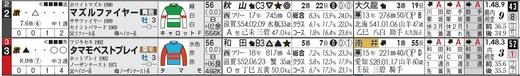 チェック_きさらぎ賞タマモとマズル