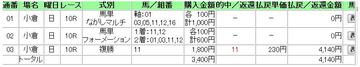 201000801小倉記念複勝