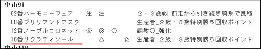 データ_土曜中山9R