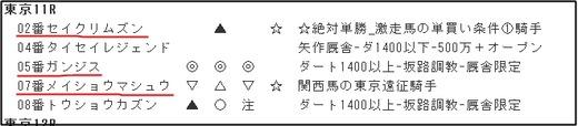 データ_0127東京11R