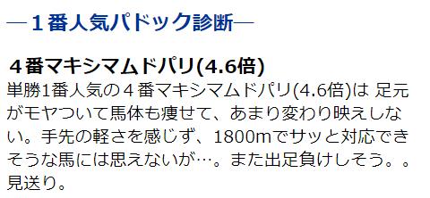 180310中山牝馬S1番人気