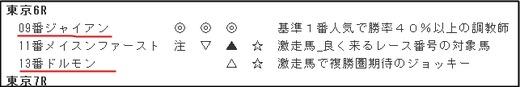 データ_1007日東京6R