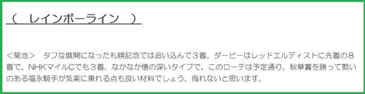 1023菊花賞・穴推奨