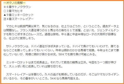 0212京都記念オクノコラム