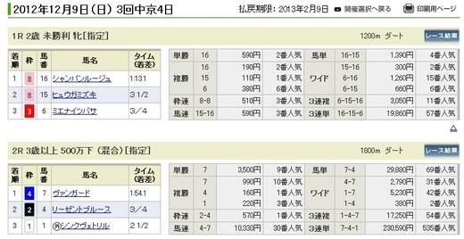 データ_1209日中京1R払い戻し