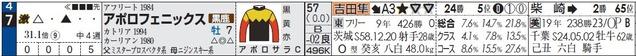 福島11R_アポロフェニックス