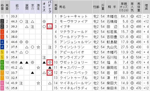 0828新潟2歳回顧トップ2