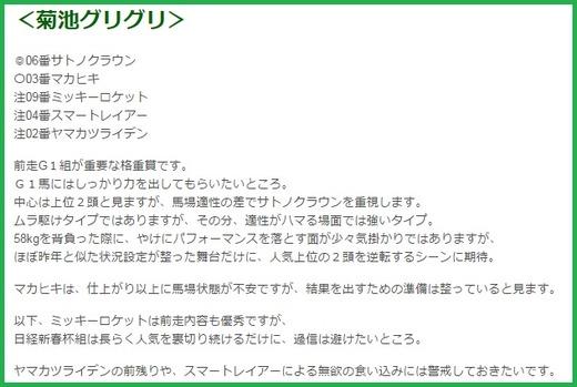 0212京都記念グリグリコラム
