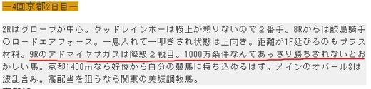 データ_1007日京都9Rコメ