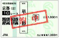 データ新聞_京都10R馬券