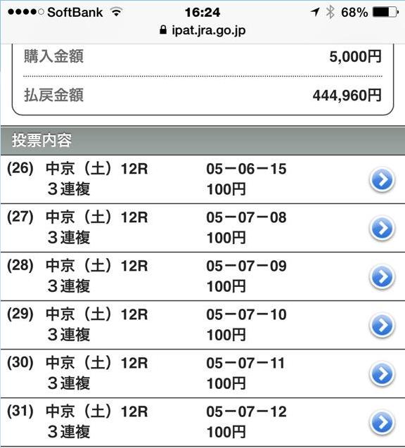 3月15日中京12R的中2