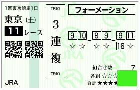 東京新聞杯3