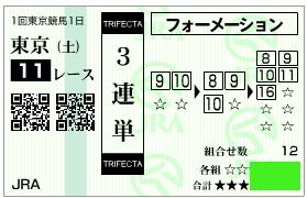 東京新聞杯4