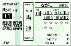 0929阪神11r決め軸流し