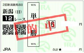 0818新潟12r単勝