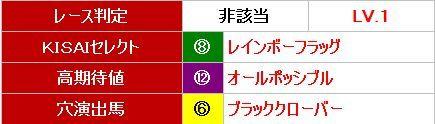 KISAI選出馬0729小倉11R
