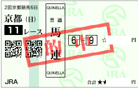 0215京都記念の決め軸馬連の展開読み馬券