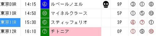 ジャッジメント1014東京11R