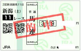 0903新潟11R展開決め馬連