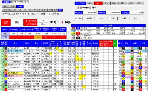 0118京都12rMonSTER朝二画面