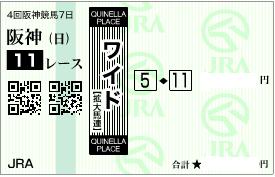 0927神戸新聞杯決めワイド1点勝負A