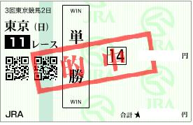 0604安田記念必買い単勝馬券