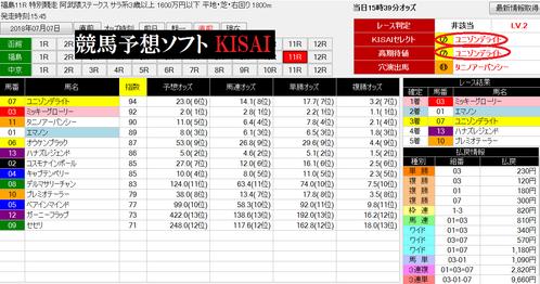 kisai0707福島11R画面