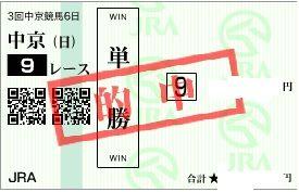 0714中京9r単勝