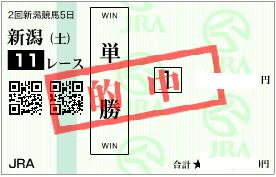 0812新潟日報賞の勝負単勝