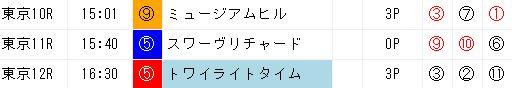 ジャッジメント1028天皇賞