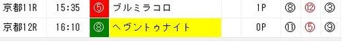 ジャッジメント1020京都11R推奨穴馬
