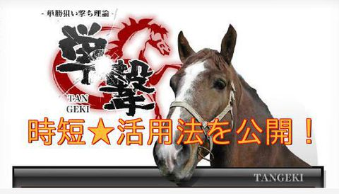 単撃TANGEKI・競馬商材特典
