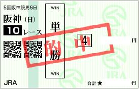 1215阪神10r決め単勝