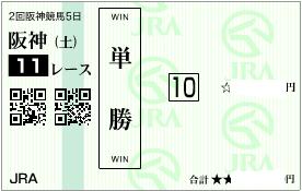 0412阪神11R決め単勝