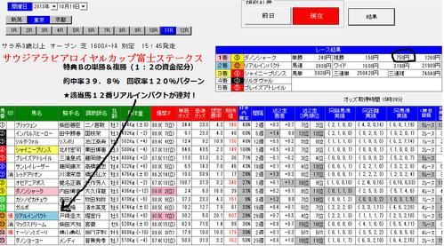 1019東京11r単撃ロボ