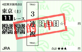 1026東京11r3連複加重