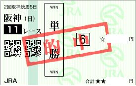 0412桜花賞決め軸単勝馬券