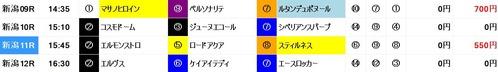 超人0826新潟9〜12R