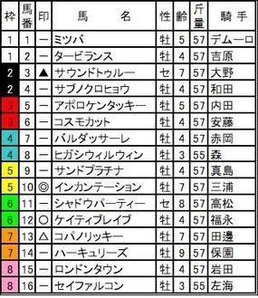 東京大賞典予想63