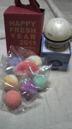 20110107入浴剤&加湿器